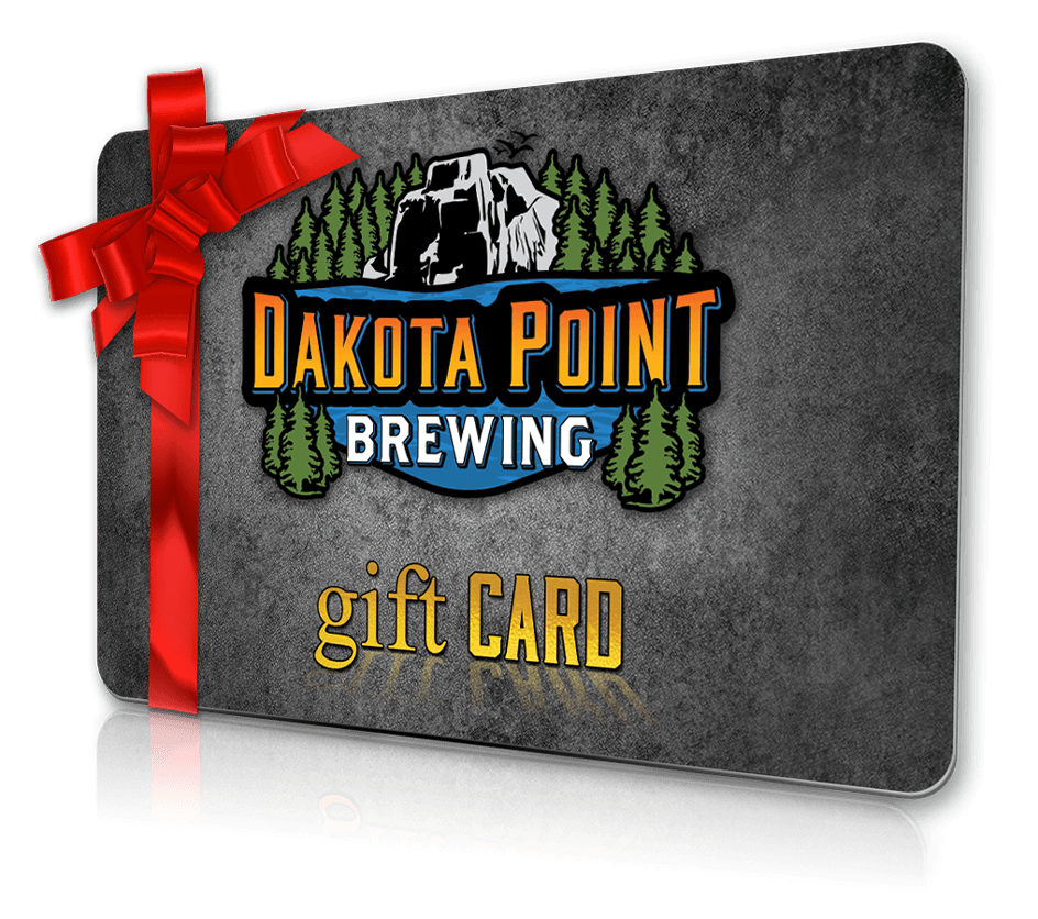 Dakota Point Brewing Gift Card image.